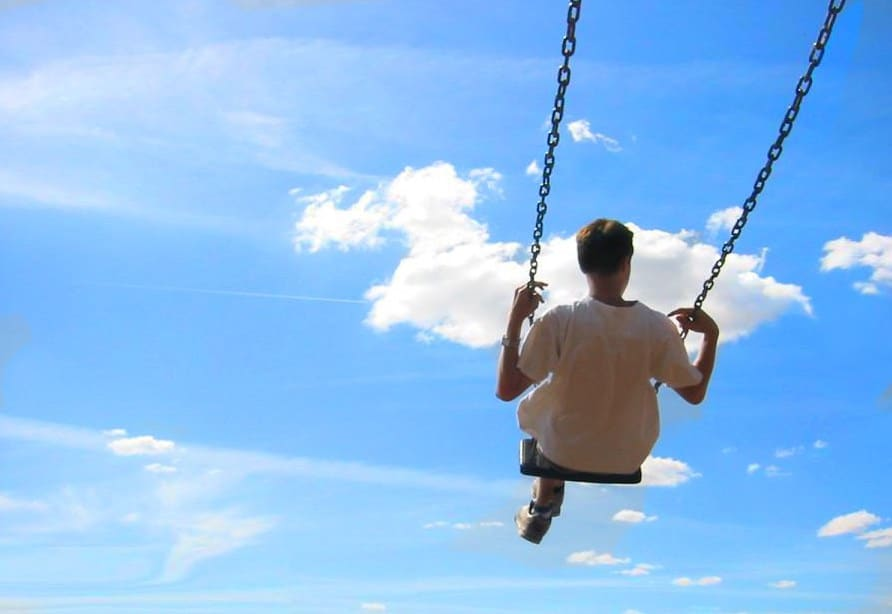 Man-on-swing